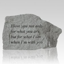 I Love You For What You Are Rock