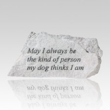 Always Be Kind Memorial Stone