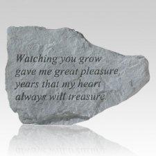 Watching You Grow Keepsake Rock