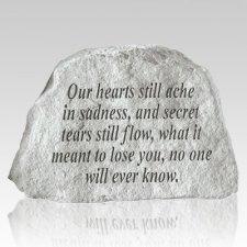 Our Hearts Still Ache Keepsake Rock