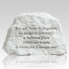 Never Forgotten Memorial Stone
