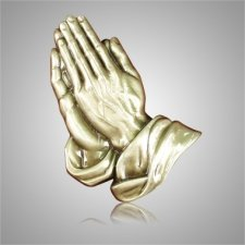 Praying Hands Medallion Appliques