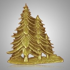 Evergreens Medallion Appliques