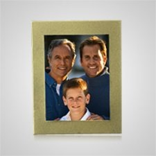 Medium Gold Rectangle Picture Frame
