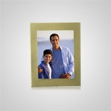 Small Gold Rectangle Picture Frame