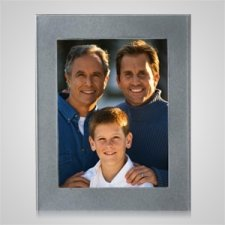Large Silver Rectangle Picture Frame