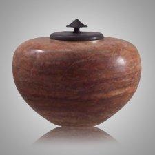 Zuni African Alabaster Cremation Urn
