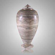 Sage Alabaster Cremation Urn