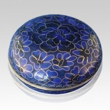 Royal Blue Cloisonne Jewel Dish