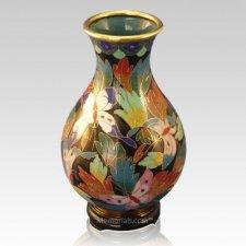 Butterflies Cloisonne Vase