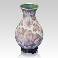 Rose Flowers Cloisonne Vase