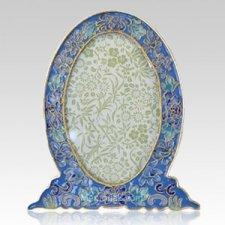 Azure Blue Cloisonne Picture Frame