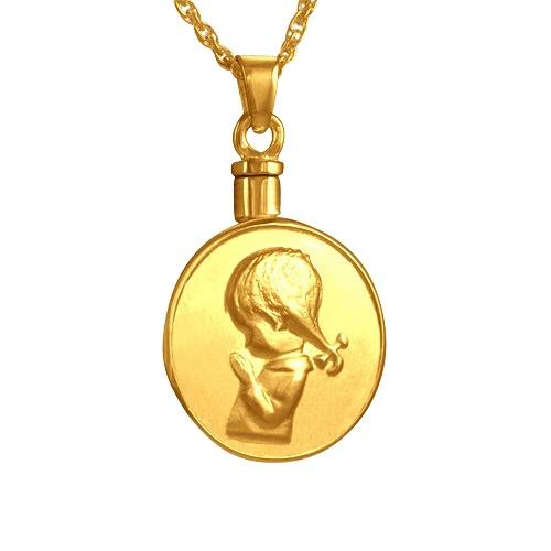 Praying Girl Keepsake Jewelry IV