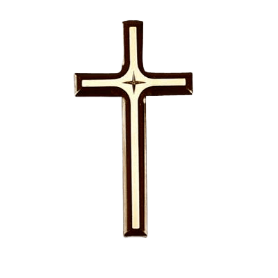 Cross with Cross Medallion Appliques