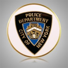 NYC Police Dept. Medallion Appliques