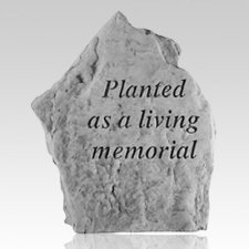 Planted Living Memorial Stone