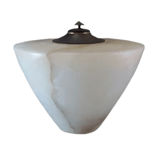 Italian Alabaster Cremation Urn II