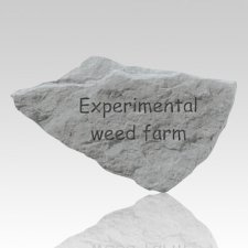 Experimental Weed Farm Stone