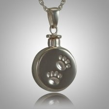 Pet Paw Signet Cremation Keepsake