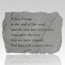 End Of The Road Stone