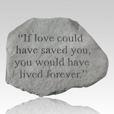 Love You Forever Memorial Stone