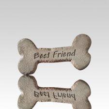 Dog Bone with Best Friend Stone