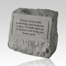 If Tears Could Pet Cremation Headstone