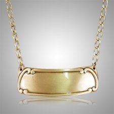 Polished Gold with Chain Medallion