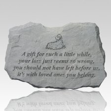 Little Gift Pet Memorial Stone