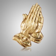 Large Praying Hands Medallion Appliques
