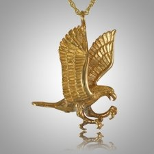 Flying Eagle Cremation Jewelry II