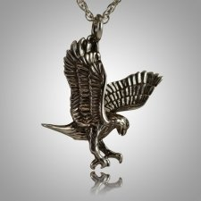 Flying Eagle Cremation Jewelry III