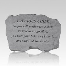 Precious Child No Farewell Stone