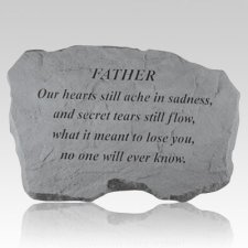 Father Our Hearts Still Ache Stone