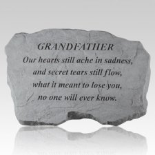 Grandfather Our Hearts Still Ache Stone