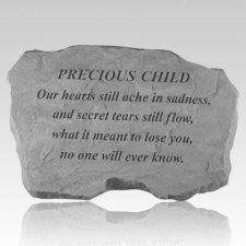 Precious Child Our Hearts Still Ache Stone