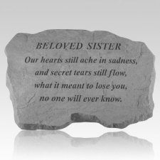 Beloved Sister Our Hearts Still Ache Stone