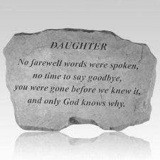 Daughter No Farewell Words