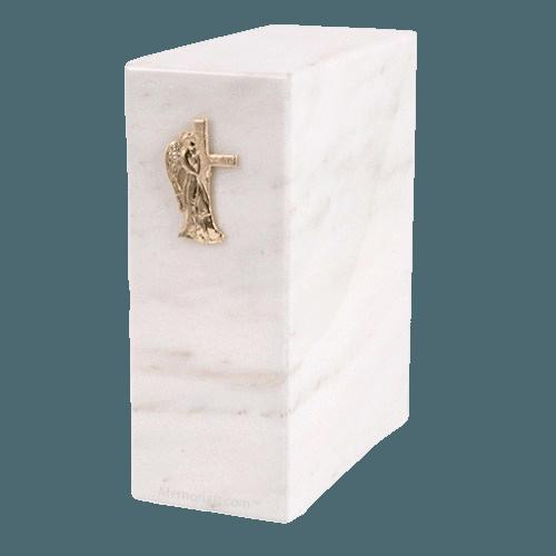 Eternitas White Danby Marble Cremation Urns