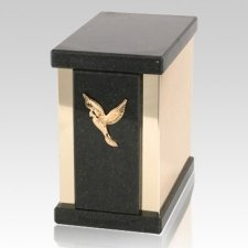 Ethinity Cambrian Black Granite Urn