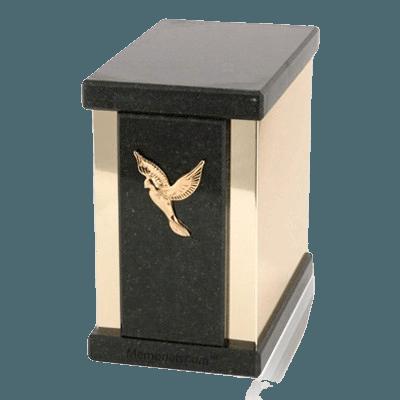 Ethinity Cambrian Black Granite Cremation Urns