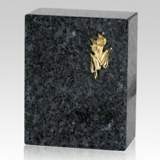 Eternitas Blue Pearl Granite Urn