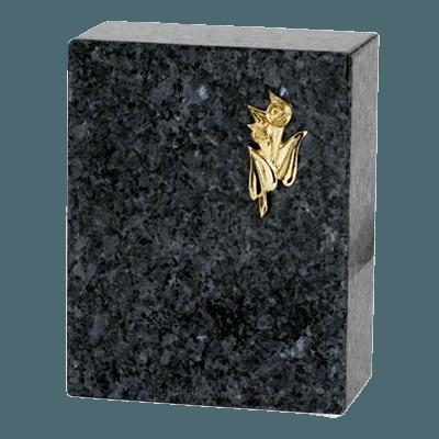 Eternitas Blue Pearl Granite Cremation Urns