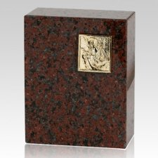 Eternitas African Red Granite Urn