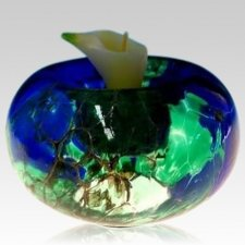 Abstract Candle Glass Pet Urn