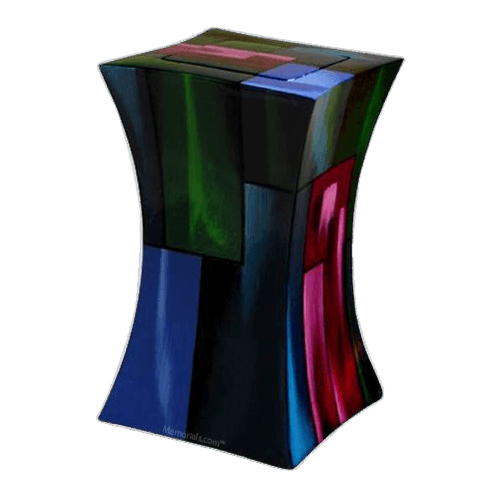 Abstract Funeral Cremation Urn