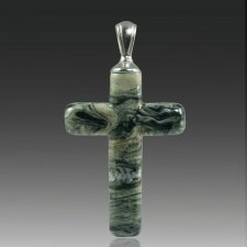 Abyss Cross Cremation Ash Pendants