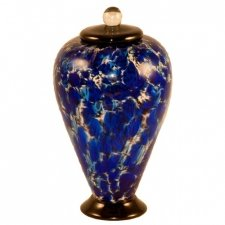 Abyss Glass Pet Cremation Urn