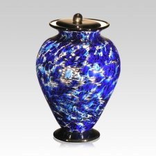 Acqua Glass Cremation Urn