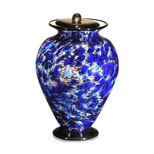 Acqua Glass Cremation Urn